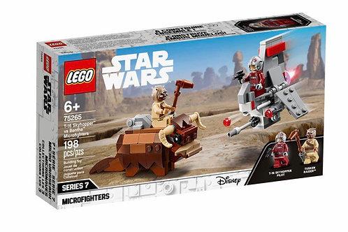 LEGO 75265 T-16 SKYHOPPER VS BANTHA