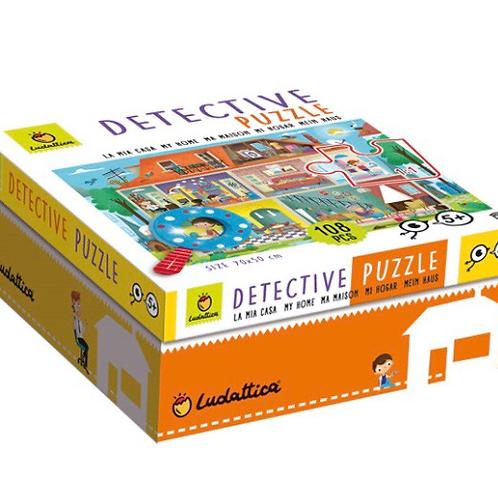 PUZZLE LUDATTICA 108 PIEZAS DETECTIVE