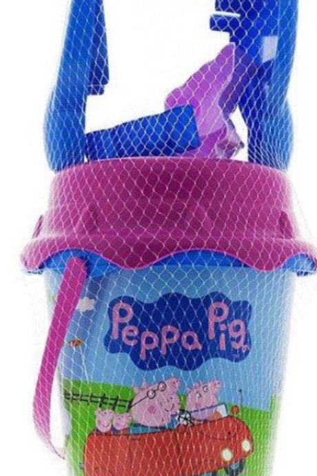 CUBO PLAYA CASTILLO PEPPA PIG