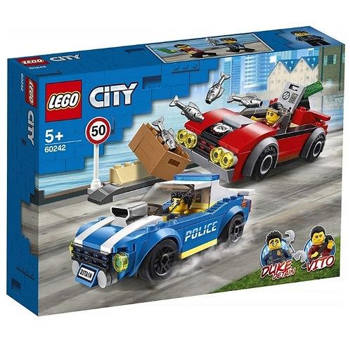 LEGO 60242 ARRESTO EN LA AUTOPISTA
