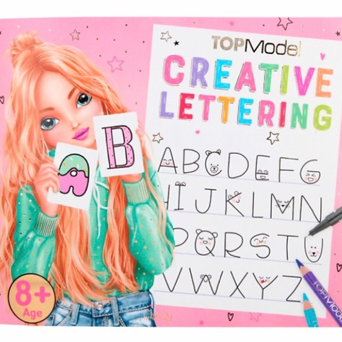 CREATIVE LETTERING TOP MODEL