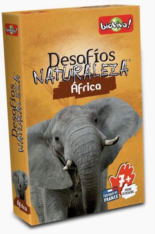 DESAFÍOS DE LA NATURALEZA AFRICA