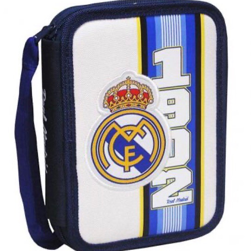 PLUMIER DOBLE REAL MADRID