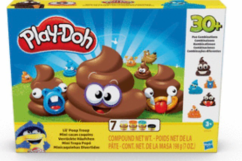 PLAY DOH MINI CACAS DIVERTIDAS