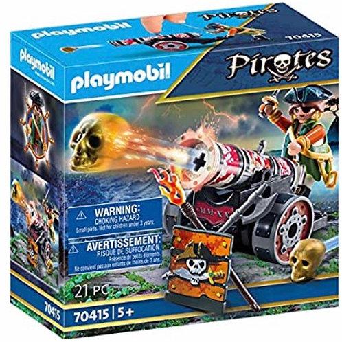 PLAYMOBIL 70415 PIRATA CON CAÑON