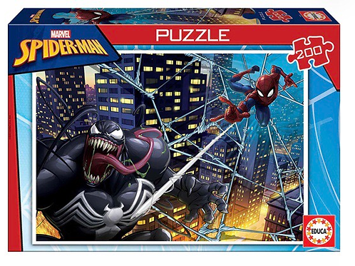 PUZZLE EDUCA 200 PIEZAS SPIDERMAN