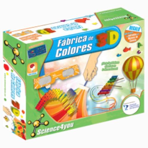 FÁBRICA DE COLORES 3D SCIENCE4YOU