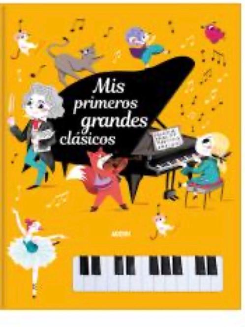 LIBRO PIANO-MIS PRIMEROS GRANDES CLÁSICOS AUZOU