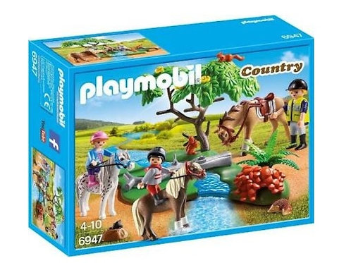 PLAYMOBIL 6947 PASEO DE PONIS