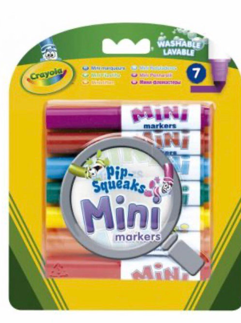 ROTULADORES LAVABLES CRAYOLA PACK 7