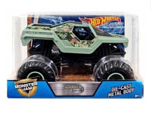 HOT WHEELS MONSTER JAM 1:24