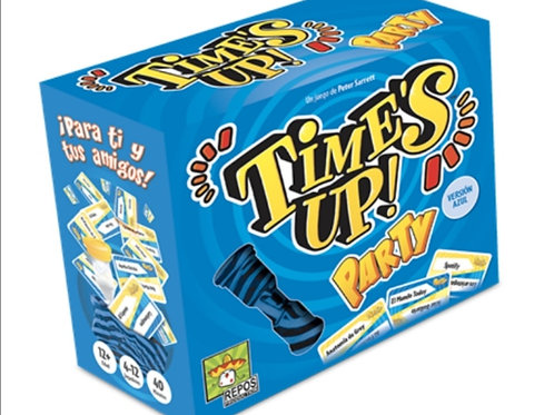 TIME'S UP PARTY AZUL
