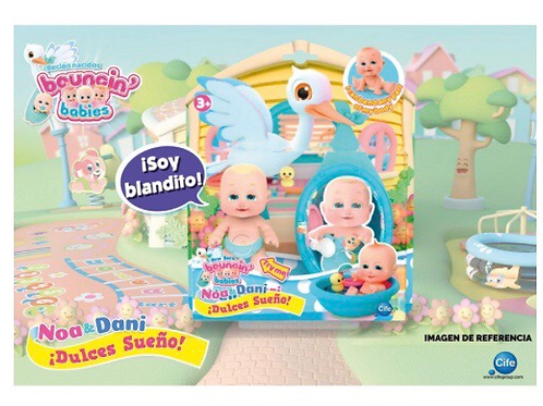 BOUNCIN BABIES DULCES SUEÑOS CIFE