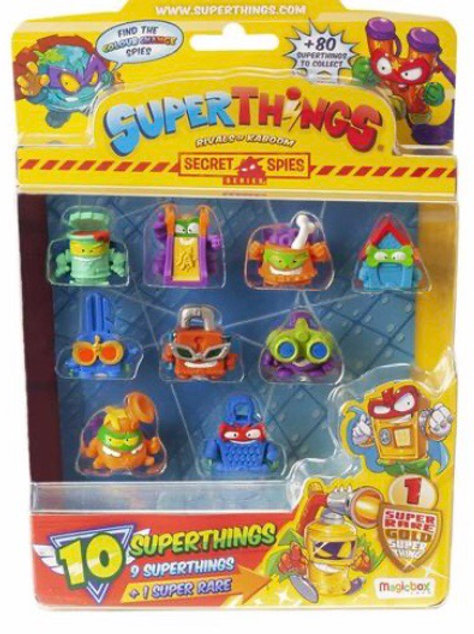 SUPERTHINGS SECRET SPIES PACK 10