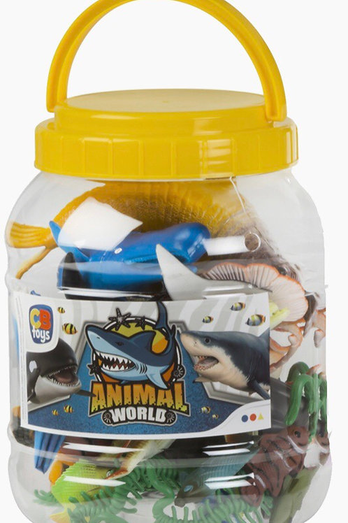 BOTE ANIMALES MARINOS COLORBABY