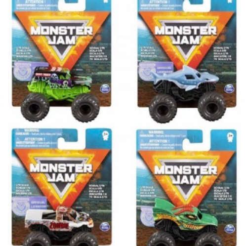 MONSTER JAM SURTIDOS ESCALA 1:70