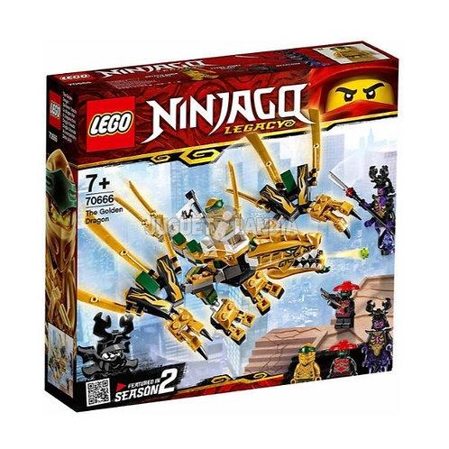 LEGO 70666 NINJAGO DRAGÓN DORADO