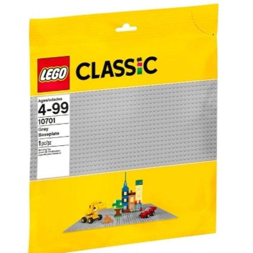LEGO 10701 PLACA BASE GRIS DE 38X38cm