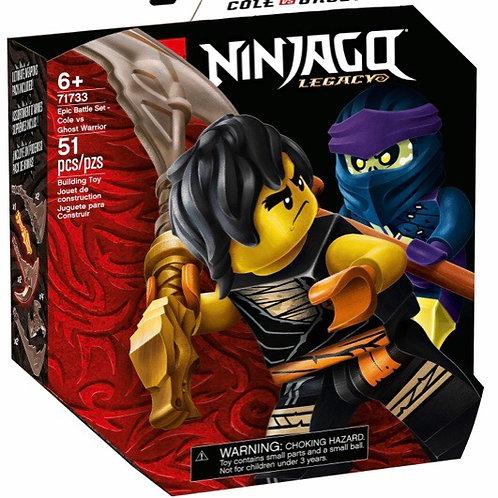 LEGO 71733 COLE VS GHOST NINJAGO