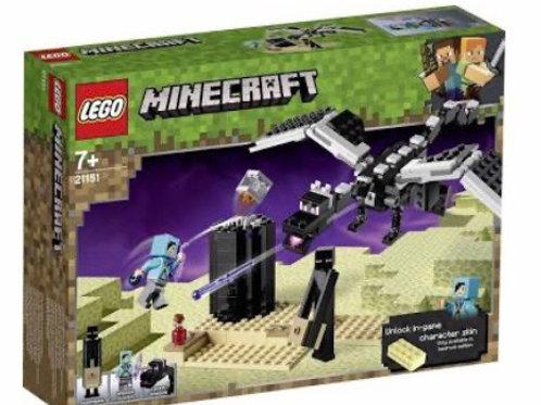 LEGO 21151 MINECRAFT LA  BATALLA EN EL END