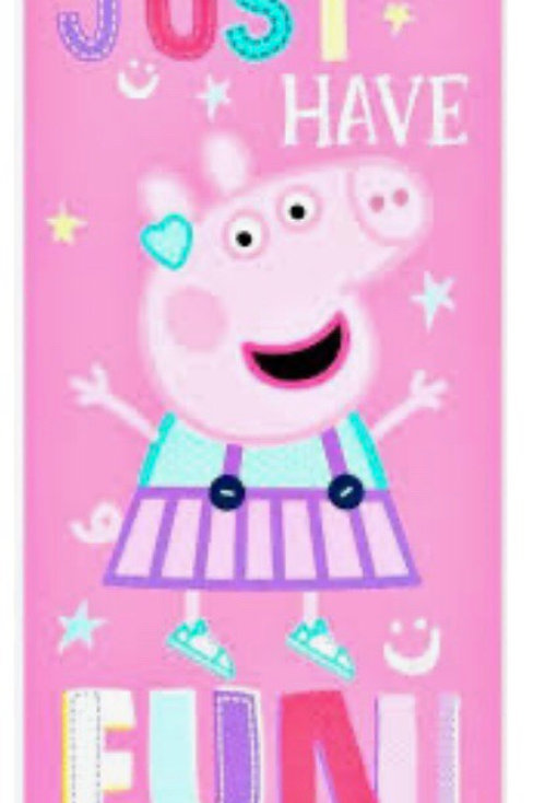 TOALLA PLAYA PEPPA PIG