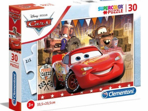 PUZZLE CLEMENTONI 30 PZ CARS