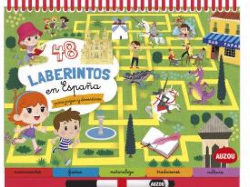 48 LABERINTOS EN ESPAÑA AUZOU