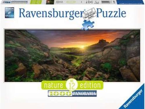 PUZZLE RAVENSBURGER 1000 PIEZAS SOL SOBRE ISLANDIA