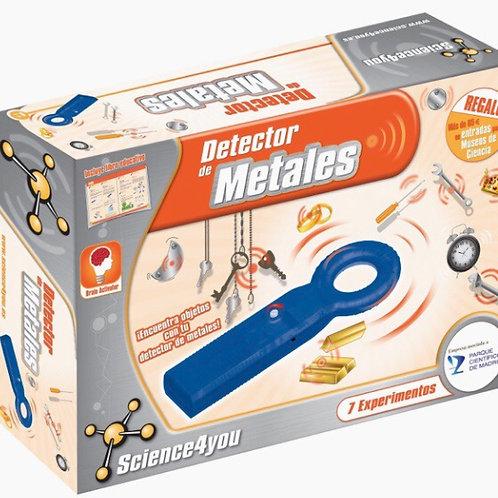 DETECTOR DE METALES SCIENCE4YOU