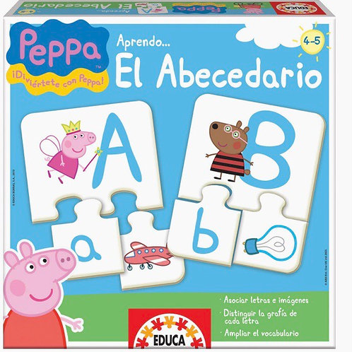 APRENDO EL ABECEDARIO CON PEPPA PIG