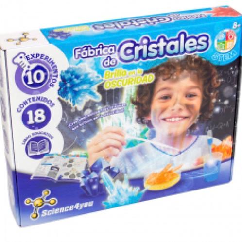 FÁBRICA DE CRISTALES SCIENCE4YOU