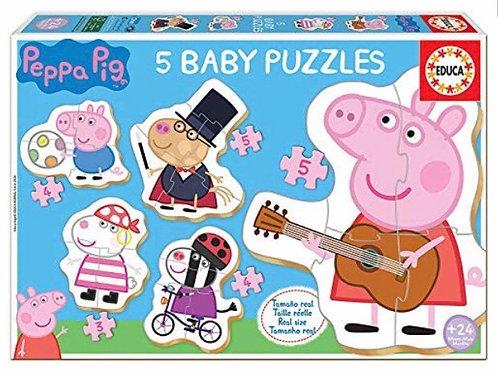 BABY PUZZLE EDUCA PEPPA PIG