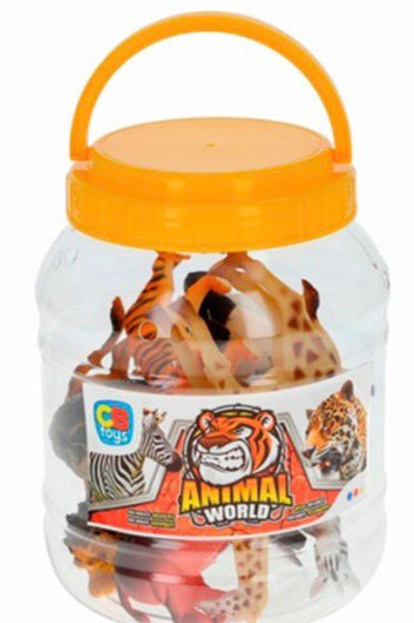 BOTE ANIMALES SELVA COLORBABY