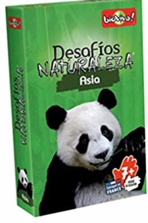 DESAFÍOS DE LA NATURALEZA ASIA