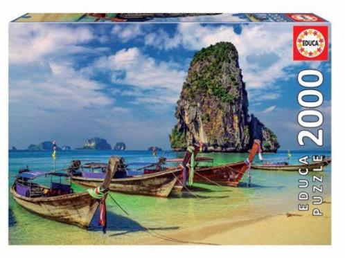 PUZZLE EDUCA 2000 PZ TAILANDIA