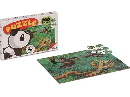PUZZLE CAYRO 100 PIEZAS WWF