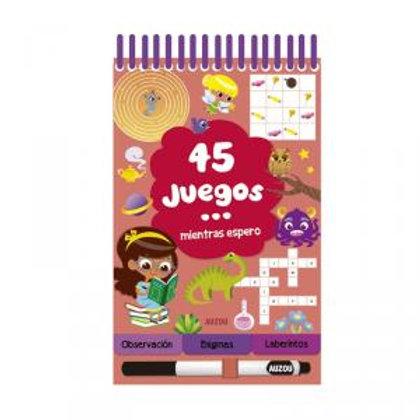 45 JUEGOS... MIENTRAS ESPERO