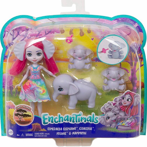 ENCHANTIMALS ESMERALDA ELEPHANT
