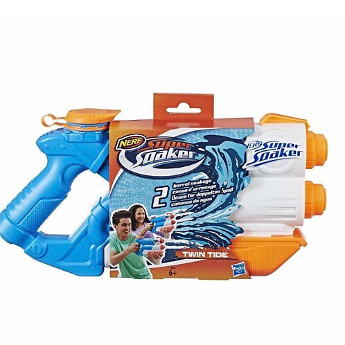 NERF SUPERSOKER TWIN TIDE