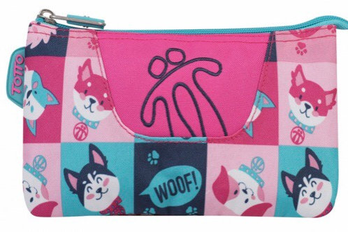 ESTUCHE TRIPLE TOTTO PERROS&GATOS
