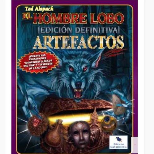 AMPLIACIÓN ARTEFACTOS HOMBRES LOBO