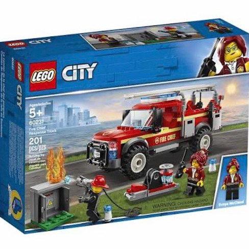 LEGO 60231 CAMION INTERVENCIÓN BOMBEROS