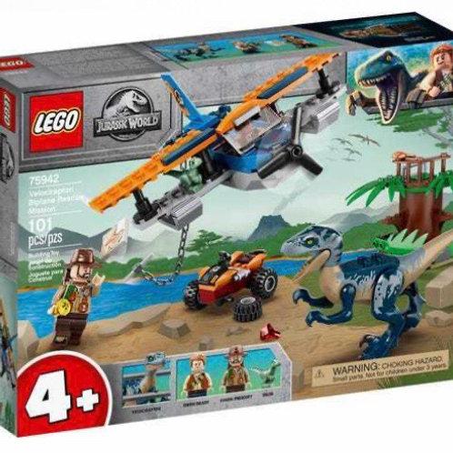 LEGO 75942 VELOCIRAPTOR MISIÓN RESCATE