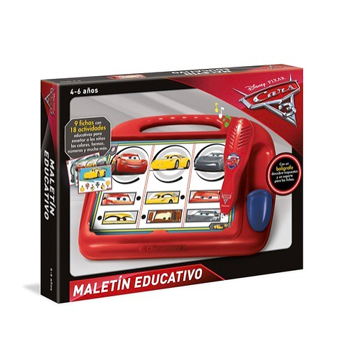 MALETÍN EDUCATIVO CARS CLEMENTONI