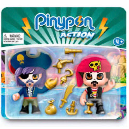 PINYPON ACTION PACK DOS FIGURAS