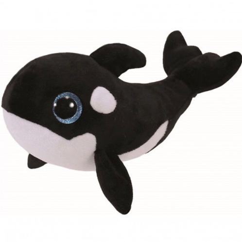 PELUCHE TY BEANIE BOOS ORCA 15 CENTÍMETROS