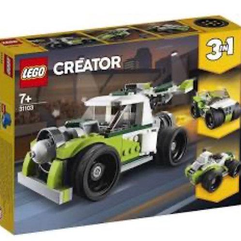LEGO 31103 CAMIÓN A REACCIÓN