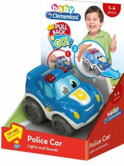 COCHE POLICIA BABY CLEMENTONI