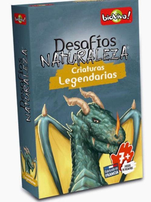 DESAFÍOS DE LA NATURALEZA CRIATURAS LEGENDARIAS