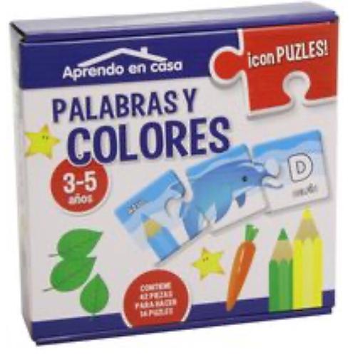 APRENDO EN CASA PALABRAS Y COLORES
